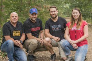 Martin Rütter DOGS Graz Team - 3 Ssympathische männer und eine frau